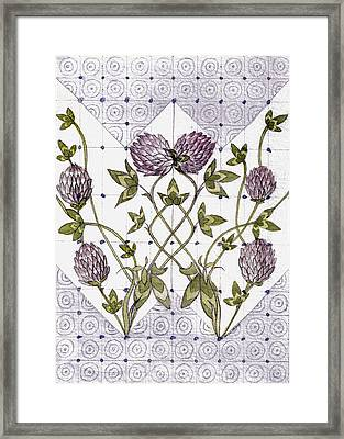 Celtic Clover Framed Print