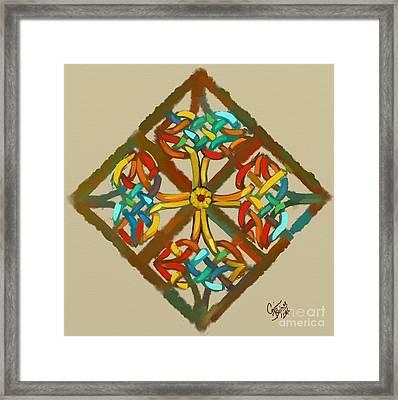 Celtic Cross 1 Framed Print