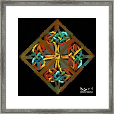 Celtic Cross 2 Framed Print