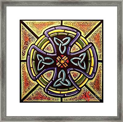 Celtic Cross 2 Framed Print by Jim Harris