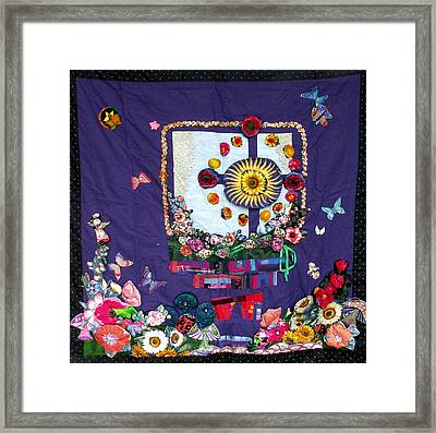 Celtic Cross  Framed Print by Sarah Hornsby