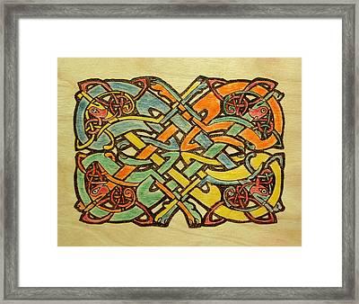 Celtic Knot 1 Framed Print