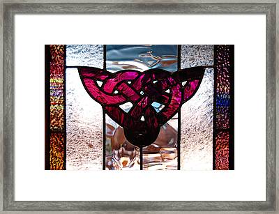 Celtic Knot Framed Print by Sarah King