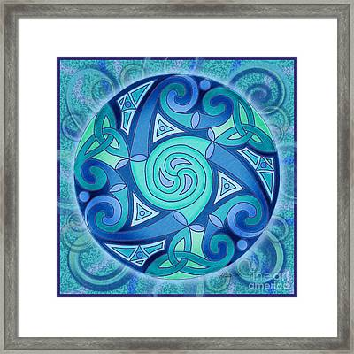 Celtic Planet Framed Print
