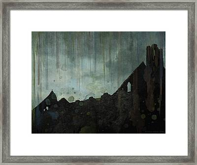 Celtic Ruins Framed Print by Ivana Westin