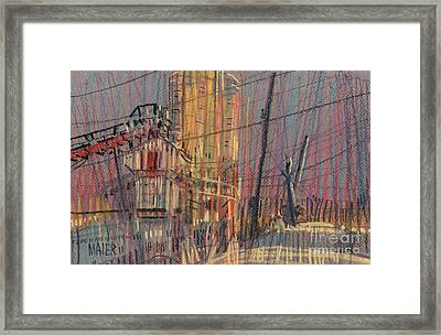 Cement Hopper II Framed Print by Donald Maier