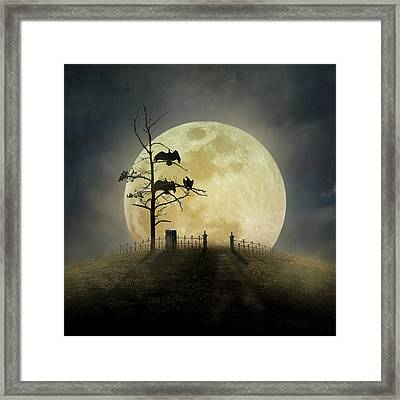 Cemetery Hill Framed Print