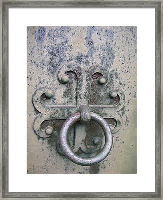 Cemetery Still-life Framed Print by Jonathan Kotinek
