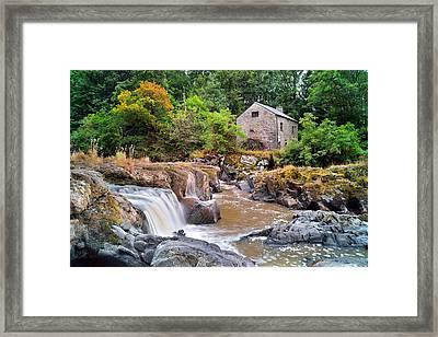 Cenarth 1 Framed Print