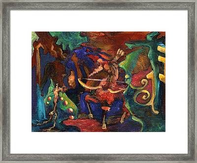 Centaur Framed Print by David Matthews