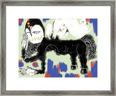 Centaur Framed Print by Mark M  Mellon