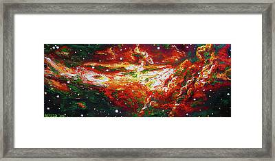 Centaurus Framed Print by Ericka Herazo