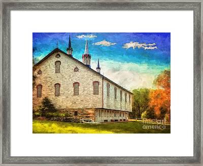 Centennial Barn Framed Print