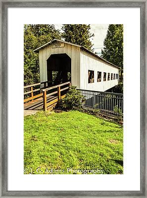 Centennial Bridge Framed Print