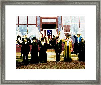 Centennial Celebration Framed Print by Cliff Wilson