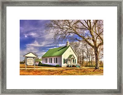 Centennial Christian Church 1909 Framed Print