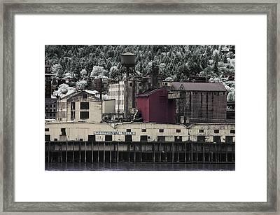 Centennial Mills Framed Print