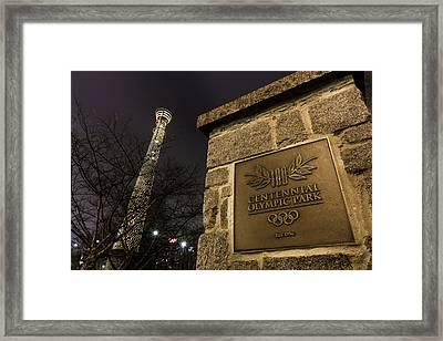 Centennial Park 1 Framed Print