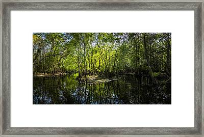 Center Island Framed Print