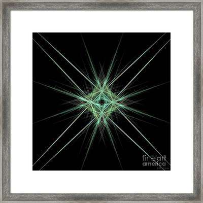 Center Of It All Framed Print by Elizabeth McTaggart