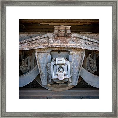 Center Wheel Framed Print