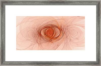 Centered Framed Print by Doug Morgan