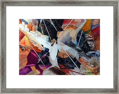 Centerfold I Framed Print