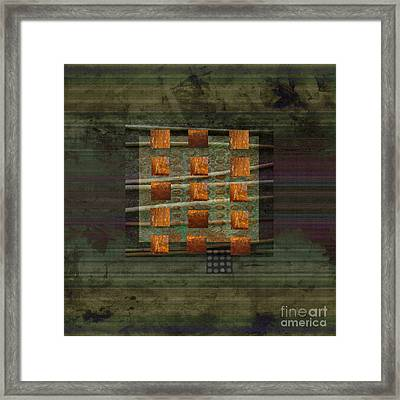 Centering Framed Print by Ann Powell