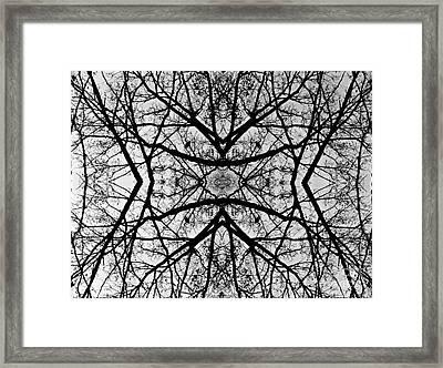 Centering Solitude Framed Print