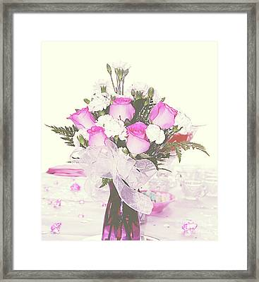 Centerpiece Framed Print by Inspirational Photo Creations Audrey Woods