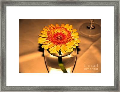 Centerpiece Framed Print by Wendy Mogul