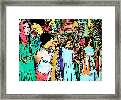Central America Nicaragua Framed Print by Lisa Dunn