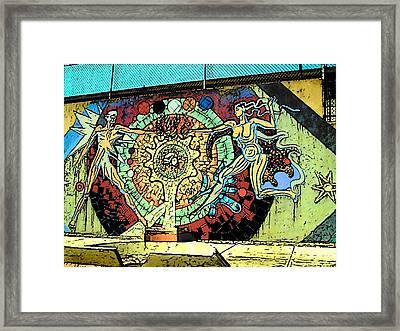 Central America Roadside Framed Print by Lisa Dunn