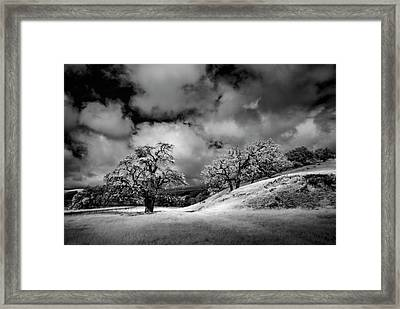 Central California Ranch Framed Print by Sean Foster