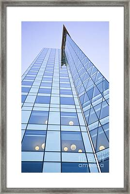Central City Framed Print