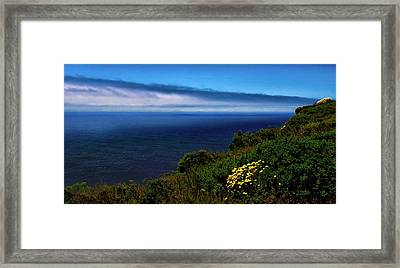 Central Coast Beach 3 Framed Print
