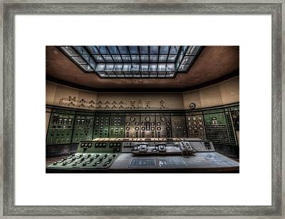 Central Control  Framed Print by Nathan Wright