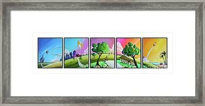 Central Florida Framed Print by Cindy Thornton