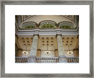 Central Library Milwaukee Interior Framed Print