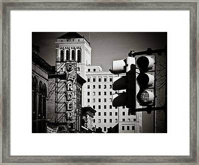 Central Northside Framed Print