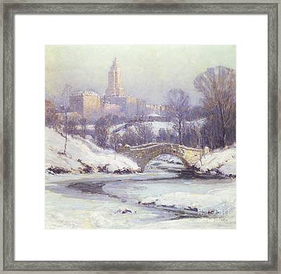 Central Park Framed Print by Colin Campbell Cooper