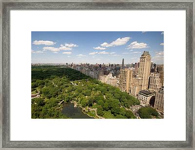 Central Park In New York City Framed Print by Joel Sartore