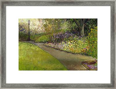Central Park Framed Print by Jennifer Lommers