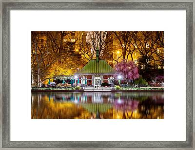 Central Park Memorial Framed Print by Az Jackson
