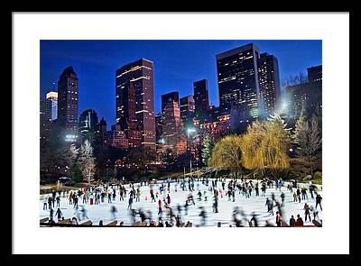 Central Park Framed Prints