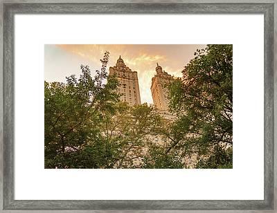 Central Park Skyline Framed Print
