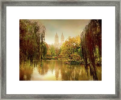 Central Park Splendor Framed Print by Jessica Jenney
