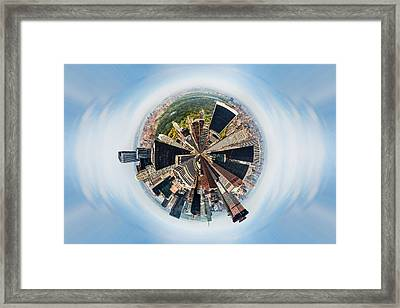 Eye Of New York Framed Print