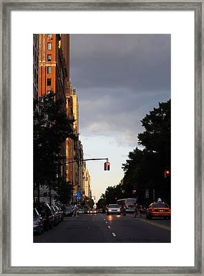 Central Park West 7524 Framed Print by PhotohogDesigns