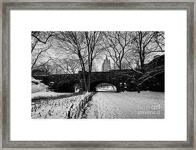 Central Park West And The San Remo Building  Framed Print